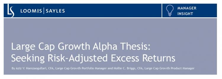 Loomis Sayles: Large cap growth alpha thesis | asset tv