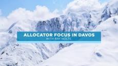 Allocator focus in Davos