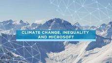 Climate change, inequality and Microsoft