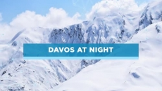Davos at night