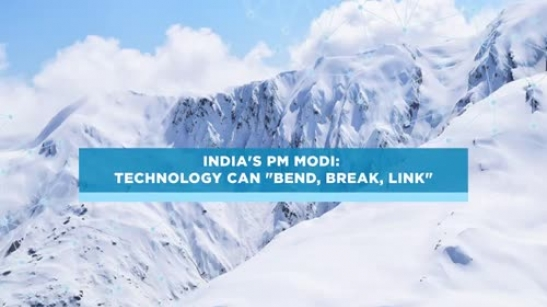 India's PM Modi: Technology can '...