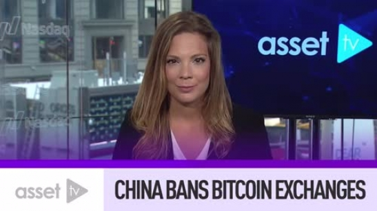 China Bans Bitcoin Exchanges