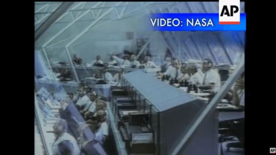 NASA released Thursday newly restored video from the July 20, 1969, live television broadcast