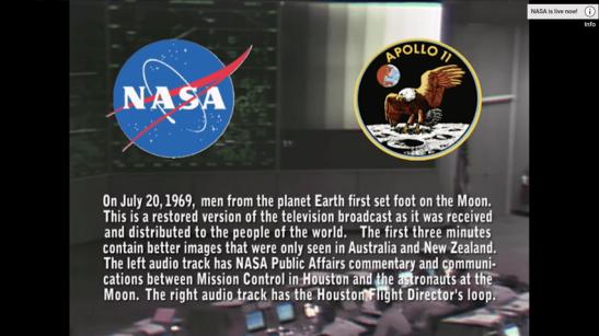 Restored Apollo 11 Moonwalk - Original NASA...